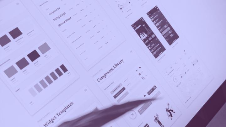 UI-Kit creado por un Diseñador Visual o Visual Designer para una aplicación